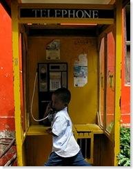 africa phone box
